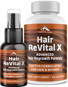 Hair Revital X System Reviews - The Ultimate Hair Regrowth Support