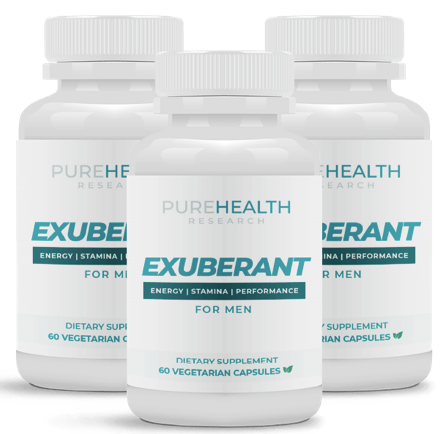 PureHealth Research Exuberant Review: #1 Testosterone Boosting Pills