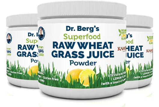 Dr Berg Raw Wheat Grass Juice Powder Price