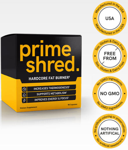 Prime Shred Review - Hardcore Fat Burner