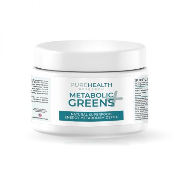 Metabolic Greens Plus by PureHealth Research
