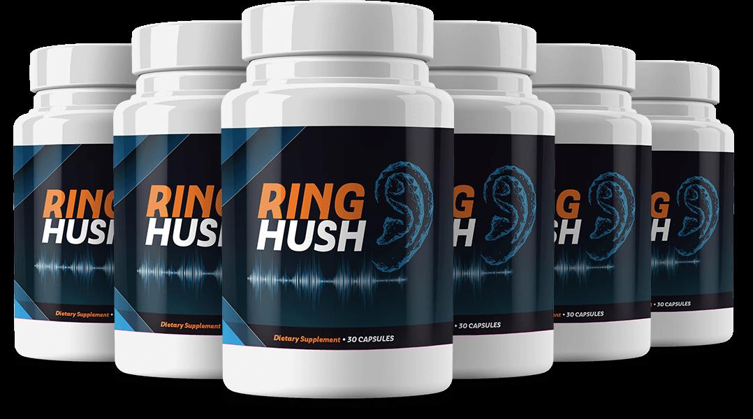 RingHush Tinnitus Relief Capsules