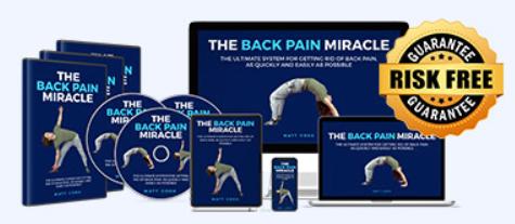 The Back Pain Miracle Customer Reviews