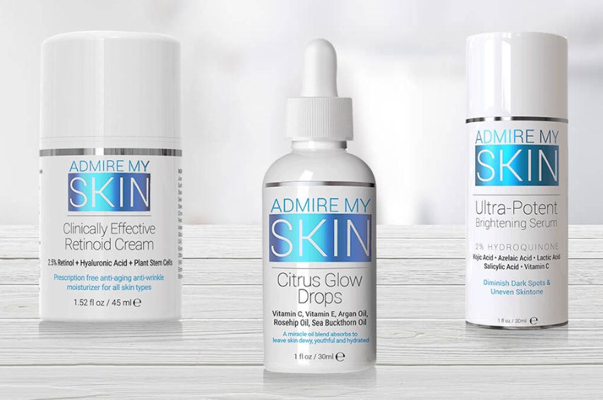 Admire My Skin Trifecta Glow System Review