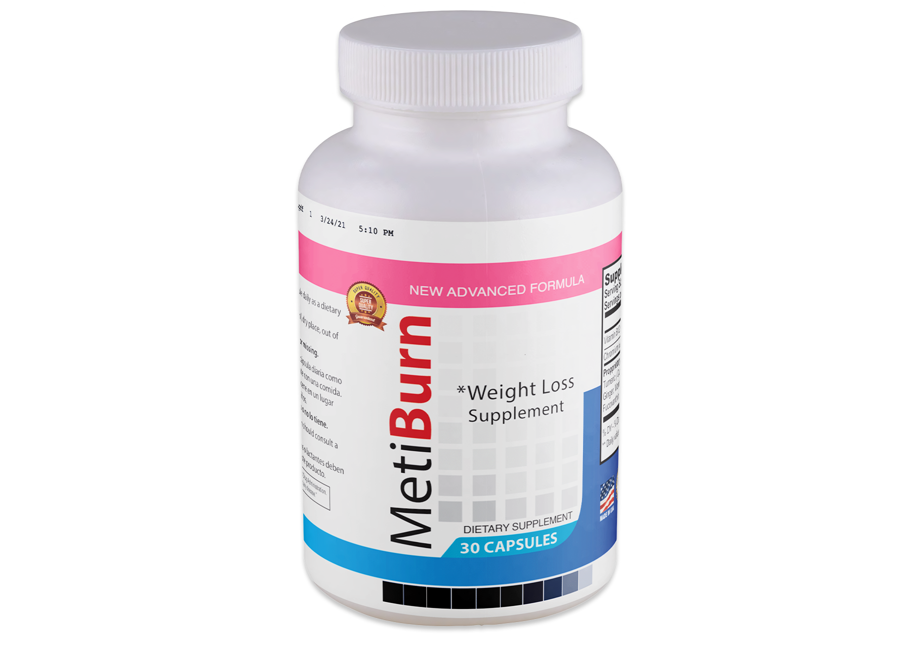 MetiBurn Supplement
